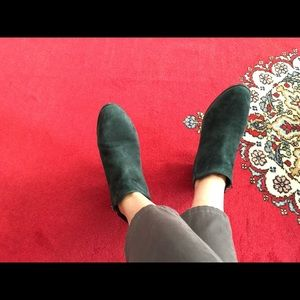 Sam Edelman Petty Booties Size 7.5 in Forest Green